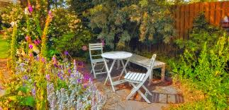Pictures Of Patio Gardens 29 Serene Garden Patio Ideas And Designs Picture Gallery