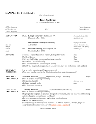 simple c v format sample good resume format for freshers
