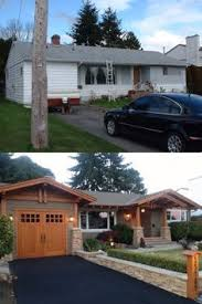 Ranch Style House Exterior Craftsman Versus Ranch Remodel Decisions House Exterior And Porch