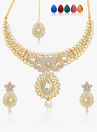 white necklace sets images Buy sukkhi white golden alloy necklace set for women online india webp