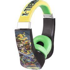 teenage mutant ninja turtles kid friendly headphones walmart com