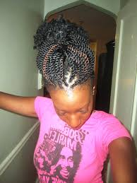 braided hair styles for a rounded face type hairstyles for black women with round faces
