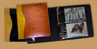 personalized leather photo album personalized custom leather photo albums 4 x 6