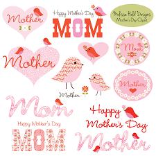 mother u0027s day clipart with cute birds mygrafico