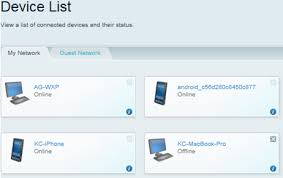 list of smart devices linksys official support overview of the device list tool in