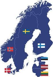 map northern europe scandinavia the un classifies estonia as a northern european country