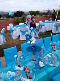 frozen centerpieces disney frozen birthday party ideas photo 7 of 27 catch my party