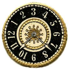 clip art scrap clock faces steampunk the graphics fairy