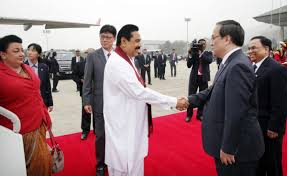 Mahinda Rajapksha Mahinda Rajapaksa Arrives In Seoul Daily News