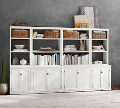 Sliding Bookcase Murphy Bed Bookshelves U0026 Cabinet Furniture Pottery Barn