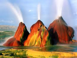 Nevada landscapes images Multicolored martian landscape nope fly geyser in the nevada desert jpg