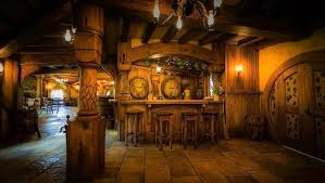 hobbit home interior hobbiton green pub for lord of the ring groupies opens in