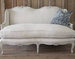 French Settee Loveseat French Loveseat Etsy