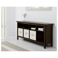 sofa table hemnes console table black brown ikea