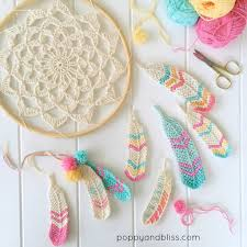 free pattern for tunisian crochet feathers crochet gifts