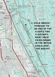 florida shipwrecks map southeast florida