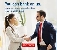 hdfc bank personal banking services