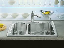 kohler staccato drop in sink staccato large medium top mount sink with single hole k 3361 1