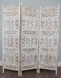 Moroccan Room Divider Pattee Moroccan Style Wooden Screen White Pantry Divider And Room
