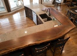Live Edge Bar Table Countertops U0026 Tables Design Gallery Pioneer Millworks