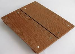anti mould cherry composite wood decking flooring boardwalk for park