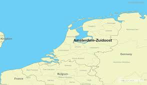 where is amsterdam on a map where is amsterdam zuidoost the netherlands where is amsterdam