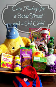 get better soon care package care package idea for a friend with sick kids