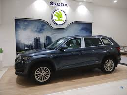 skoda kodiaq interior škoda auto india launches the all new kodiaq suv in goa