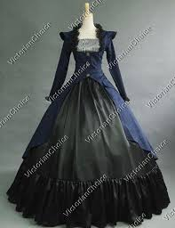 Victorian Style Halloween Costumes Victorian Military Dress Steampunk Witch Ghost Women Halloween Costume