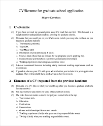 graduate school resume exles graduate school admissions resume node2003 cvresume paasprovider