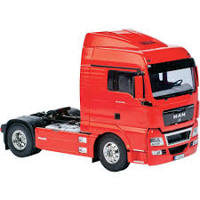 tamiya 56329 1 14 man tgx 18 540 xlx 4x2 rc model truck kit from