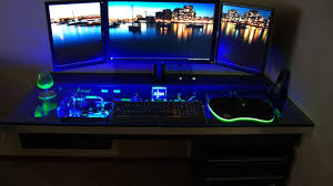 ultimate gaming desk setup desk ikea gamer desk 16jlgr awesome gaming computer desk setup