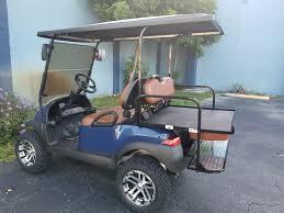 2016 custom club car precedent gas fuel injected efi golf cart