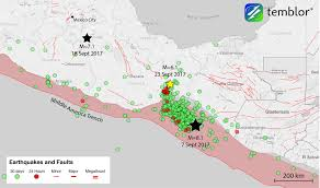 Map Mexico by M U003d6 1 Mexican Aftershock Strongly Promoted By M U003d8 1 Chiapas