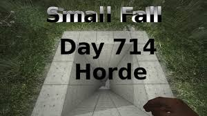 7 days to die small free fall bunker day 714 horde