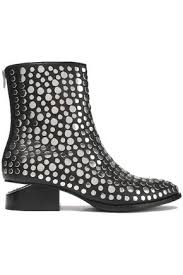 alexander wang boots mid heel sale up to 70 off gb the outnet