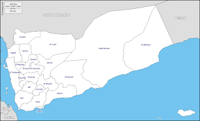 Map Of Yemen Yemen Free Maps Free Blank Maps Free Outline Maps Free Base Maps