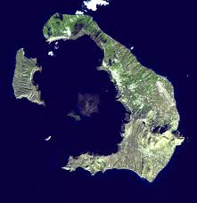Greek Islands Map Nea Kameni Wikipedia