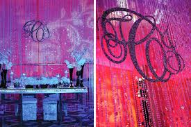 wedding backdrop monogram design weddings by cook bring on the bling