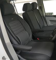 seat covers vw t6 caravelle rhd for drivers seat and bench