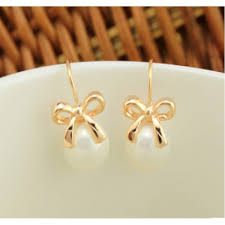 earrings brand new luxury brand design trendy imitated pearl earrings women