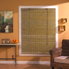 Bamboo Door Blinds Decor Transform The Look Of Your Home With Bamboo Shades Target