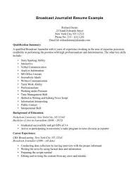 news reporter resume 20 effective reporter resume examples to