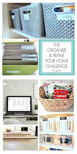 Organizing Your Home by The Organize And Refine Your Home Challenge Is Here