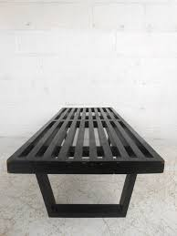 mid century modern miniature george nelson slat bench for sale at
