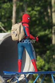 exclusive spider man homecoming photos