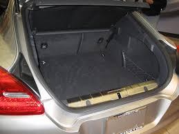 porsche panamera trunk is there a spare tire in the panamera