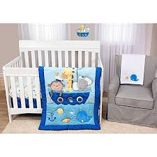 Bright Crib Bedding Baby S By Nemcor Ahoy There Crib Bedding Collection Bed