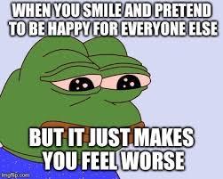 Depressed Frog Meme - pepe the frog latest memes imgflip