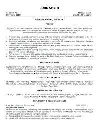 developer resume template developer resume template mainframe administration sle for